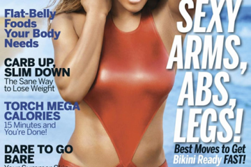 FAB Cover Serena Williams For Fitness Magazine May 2014 Issue FAB Magazine (1)