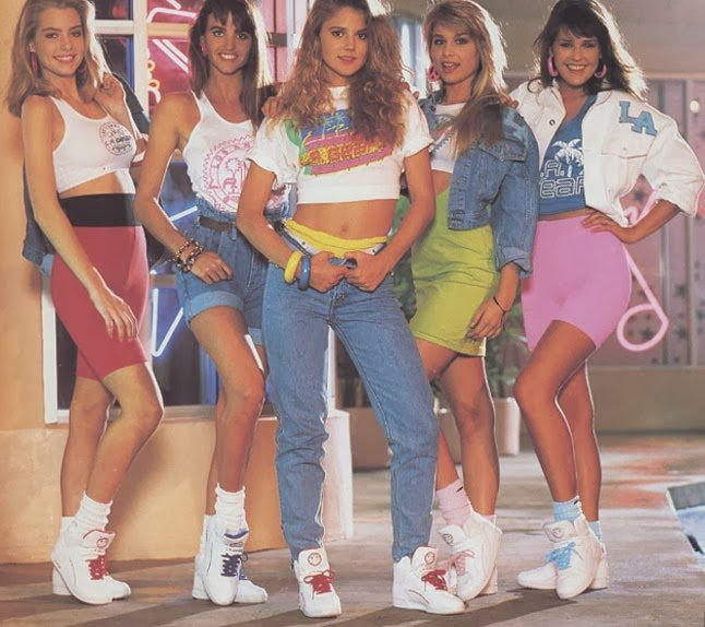 Fab Fashion Throwbackthursday Crops Tops The 80 39 S