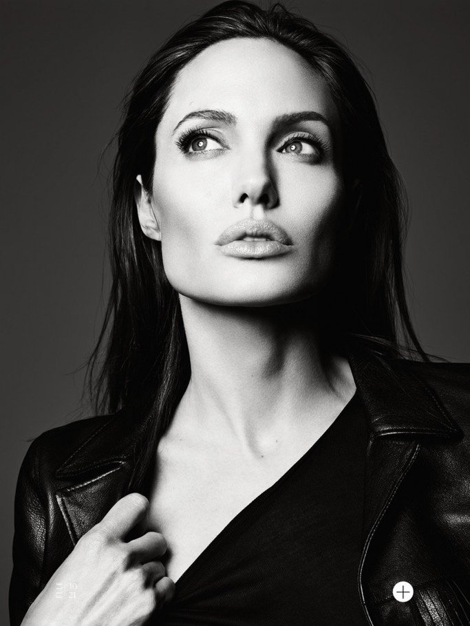 Angelina Jolie By Hedi Slimane For US Elle June 2014 Issue FAB Magazine (12)