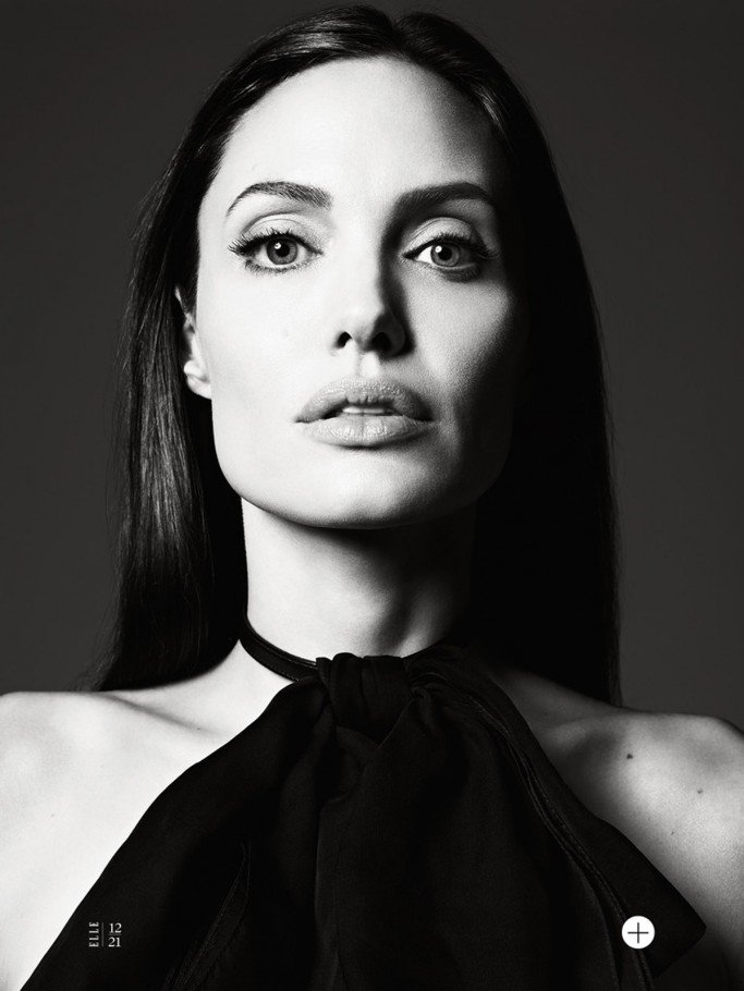 Angelina Jolie By Hedi Slimane For US Elle June 2014 Issue FAB Magazine (14)