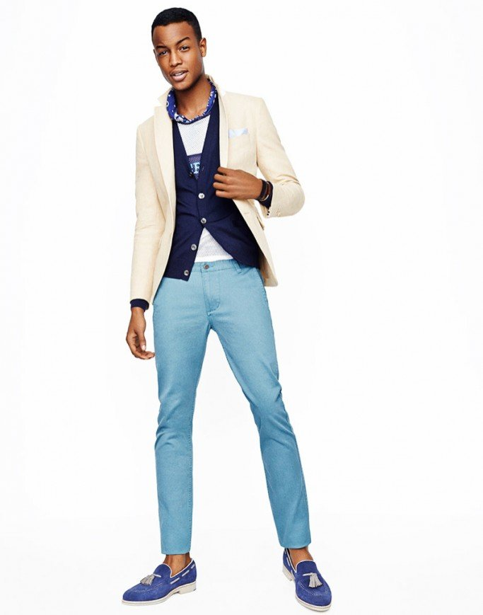 ... Summer Fashion For Men! South African Model, Conrad Bromfield For GQ