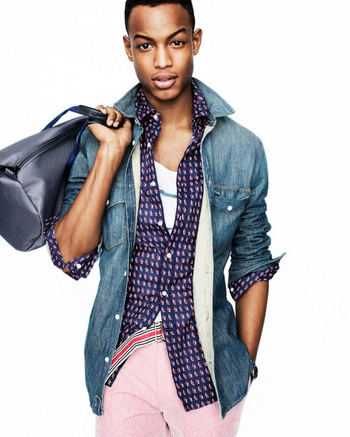 Fab Editorial Summer Fashion For Men South African Model