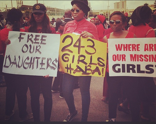 FAB News #BringBackOutGirls Protests Continue As Tiwa Savage, Lami Phillips, Waje, Banky W & More Take To The Streets FAB Magazine (4)