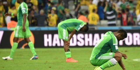Down but not out. After an abject display, the Super Eagles are disappointed but all hope is not lost