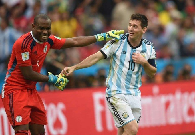 Enyeama and Messi relish their personal battle