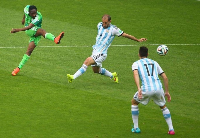 Not so fast Messi! Musa equalizes