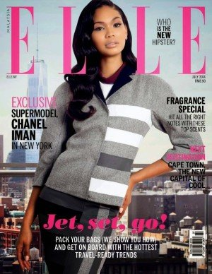 Chanel Iman for ELLE Magazine, Malaysia, July 2014 01