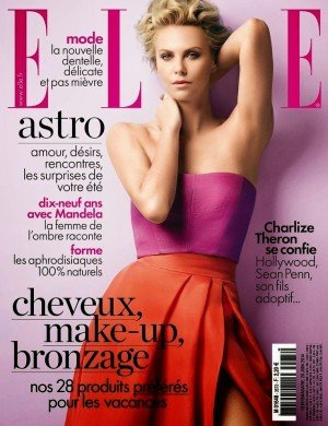 Charlize Theron For Elle Magazine, France, June 2014