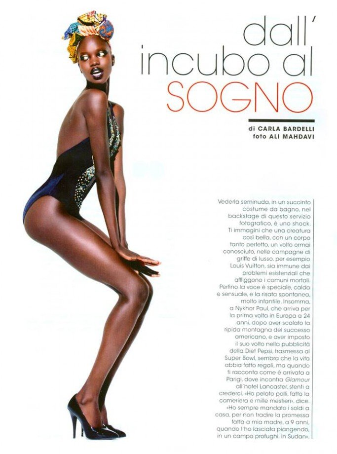 Nykhor+Paul+for+Italian+Glamour+Magazine