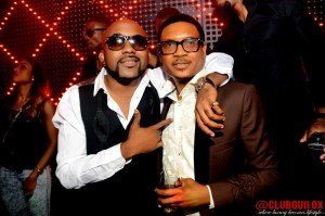 Shina Peller and Banky W