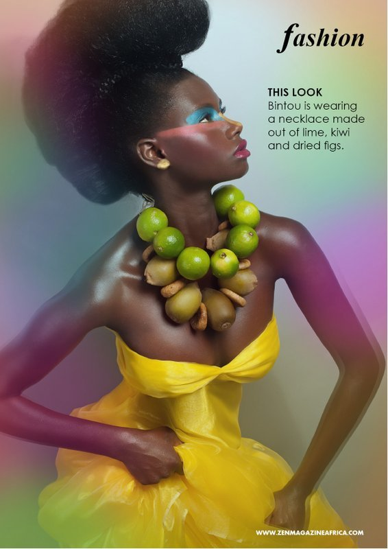 Fruity+necklaces+bold+makeup+Yvonne+Van+dalen+Zen+Magazine-6