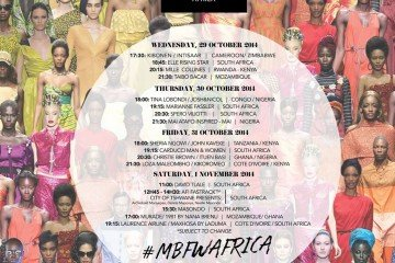 MBFWA-Mercedes-Benz-Fashion-Week-Africa-2014-schedule