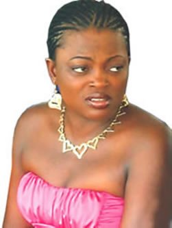 Before the spotlight, Funke Akindele