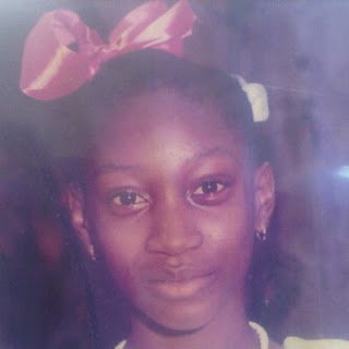 Oge Okoye was such a cute baby