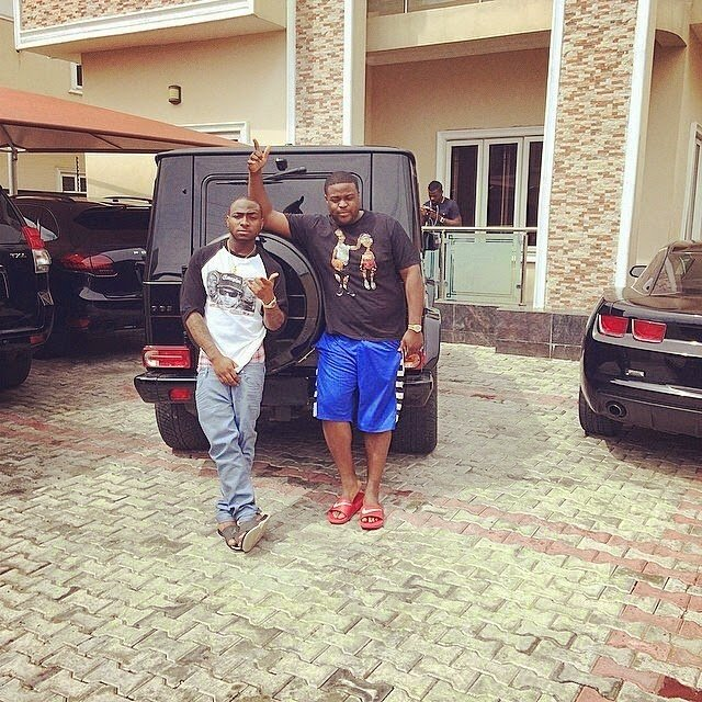Davido has a house of his own
