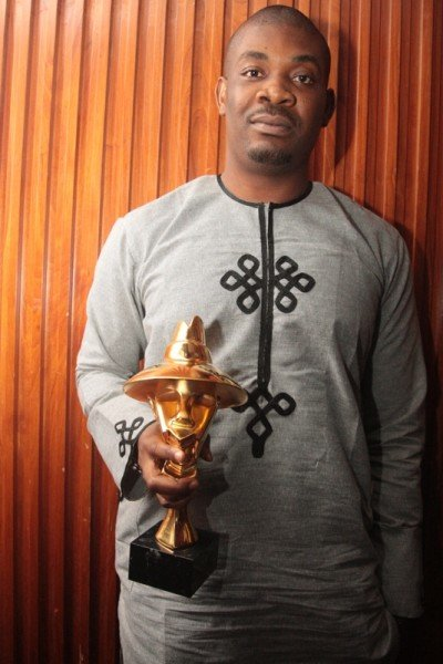 Don Jazzy has many awards to his name including The Headies 'producer of the year' awards