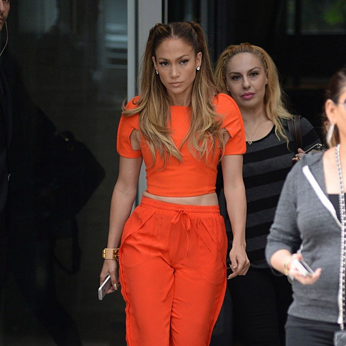 Jennifer Lopez out and about, New York, America - 08 Sep 2014
