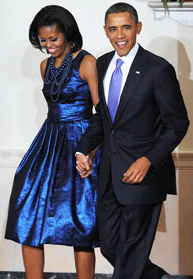 fashion icon 10 outfits that show blue is michelle obama s favorite