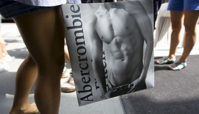 abercrombie fitch selling