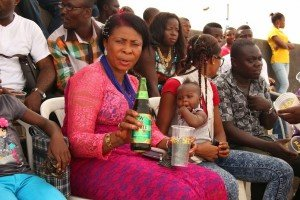 Cross Section of guests at the Arondizuogu Festival at Lagos on Easter Sunday
