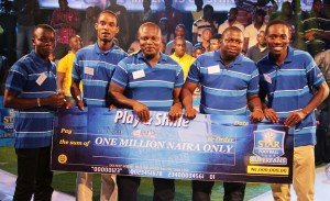 Team NOU CAMP emerged winner