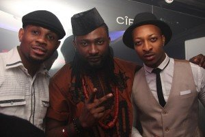 Uti  Nwachukwu(Center) and IK Ogbonna (right)