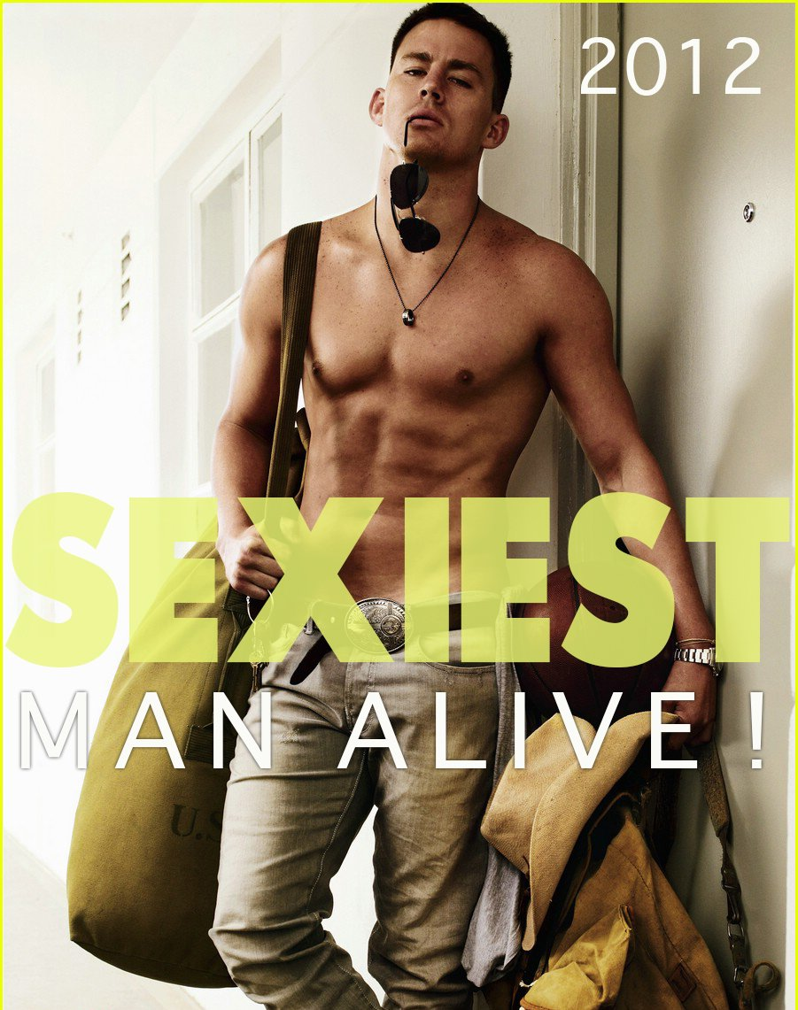 Channing Tatum. Mr September 2016 The Sexiest Man Alive